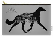 The Saluki Is A Marvel Of Elegance Carry-all Pouch