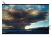 The Santa Barbara Fire Carry-all Pouch