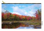 The Scarlet Reds Of Autumn Carry-all Pouch