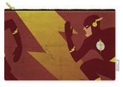 The Scarlet Speedster Carry-all Pouch by Michael Myers
