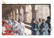 The Scottish Women's Hospital - In The Cloister Of The Abbaye At Royaumont. Carry-all Pouch