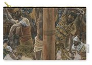 The Scourging On The Back Carry-all Pouch