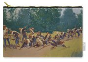 The Scream Of Shrapnel At San Juan Hill 1898 Carry-all Pouch
