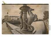 The Seahorses 3 Sepia Carry-all Pouch