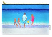 The Seaside Holiday - Beach Painting Carry-all Pouch