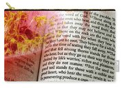 The Seed Is The Word Of God Carry-all Pouch