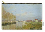 The Seine At Argenteuil Carry-all Pouch by Claude Monet