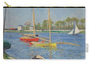 The Seine At Argenteuil Carry-all Pouch