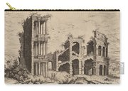The Septizonium And The Colosseum Carry-all Pouch