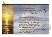 The Serenity Prayer Carry-all Pouch by Barbara Snyder