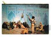 The Serpent Charmer Carry-all Pouch by Jean Leon Gerome