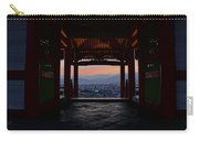 The Setting Sun And Kiyomizu-dera Carry-all Pouch