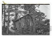 The Shack In Black And White Carry-all Pouch