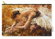 The Show Must Go On - Palette Knife Oil Painting On Canvas By Leonid Afremov Carry-all Pouch