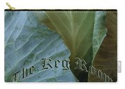 The Shy Cabbage The Keg Room Old English Hunter Green Carry-all Pouch