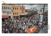 The Sights And Sounds Of Sxsw Are Enormous From 6th Street As Thousands Of Revelers Fill The Streets Carry-all Pouch