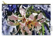The Silk Flowers Carry-all Pouch