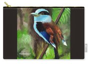 The Silver Breasted Broadbill Carry-all Pouch