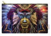 The Sioux Spirit - The Plumed Lion Carry-all Pouch