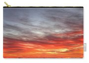 The Sky Is Smoking Hot In Widescape Carry-all Pouch