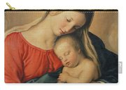The Sleeping Christ Child Carry-all Pouch by Il Sassoferrato