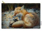 The Sleepy Fox Carry-all Pouch