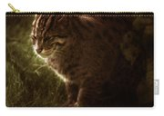 The Sleepy Wild Cat Carry-all Pouch