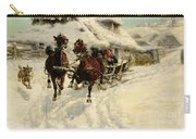 The Sleigh Ride Carry-all Pouch
