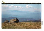 The Smokies From Roan Mountain I Carry-all Pouch