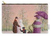 The Snowman Carry-all Pouch by Peter Szumowski