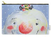 The Snowman's Head Carry-all Pouch