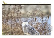 The Snowy Owl Carry-all Pouch