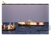 The Sonny S Ferry Docking At Middlebass Island Carry-all Pouch