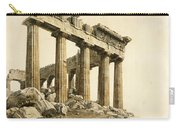 The South-east Corner Of The Parthenon. Athens Carry-all Pouch