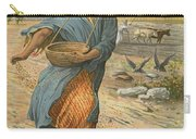 The Sower Sowing The Seed Carry-all Pouch by English School