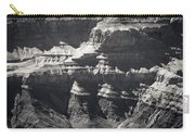The Spectacular Grand Canyon Bw Carry-all Pouch