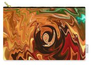 The Spirit Of Christmas - Abstract Art Carry-all Pouch