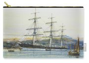 The Square-rigged Australian Clipper Old Kensington Lying On Her Mooring Carry-all Pouch