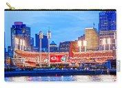 Ohio Pill Box Mustache Overlooks Stadium Carry-all Pouch