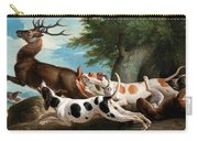 The Stag Hunt Carry-all Pouch