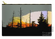 The Stained Glass Forest Carry-all Pouch