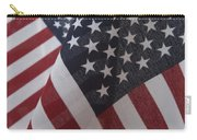 The Stars And Stripes Carry-all Pouch by Jerry McElroy