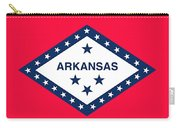 The State Flag Of Arkansas Carry-all Pouch