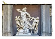 The Statue Of Laocoon And His Sons At The Vatican Museum Carry-all Pouch