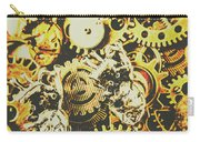 The Steampunk Heart Design Carry-all Pouch