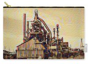 The Steel Stacks Watercolor Carry-all Pouch