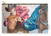 The Steer Wrestler Carry-all Pouch