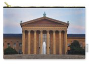 The Steps Of The Philadelphia Museum Of Art Carry-all Pouch by Bill Cannon
