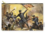 The Storming Of The Fortress At Chapultec Carry-all Pouch by English School