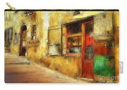 The Street  -- Original Painting Carry-all Pouch